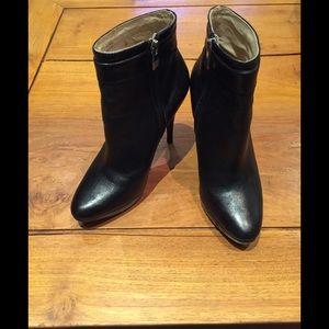 Michael Kors Leather Booties